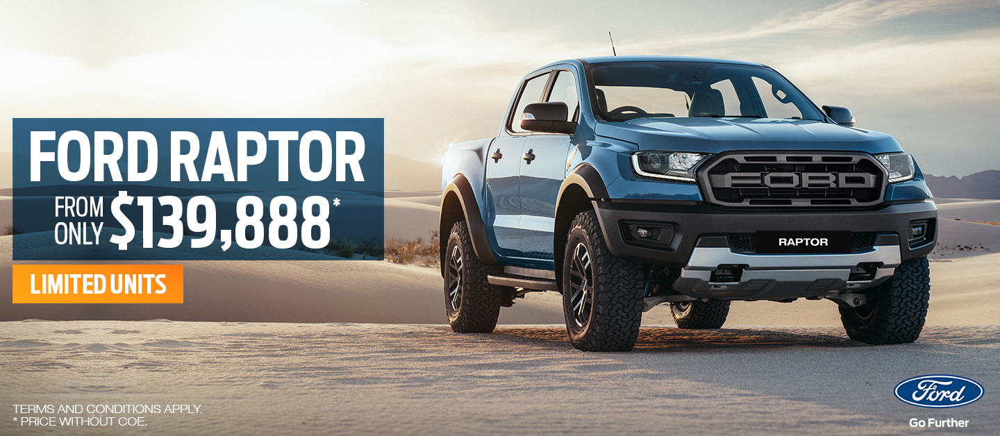Don't miss out on the Ford Raptor